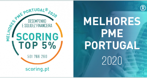 ENERGIE DISTINGUISHED AS ONE OF THE BEST SMEs PORTUGAL 2020.