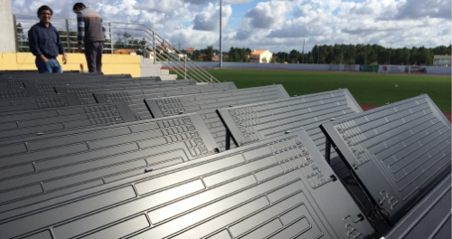 New CASE STUDY ENERGIE – REHABILITATION OF SPORTS FACILITIES